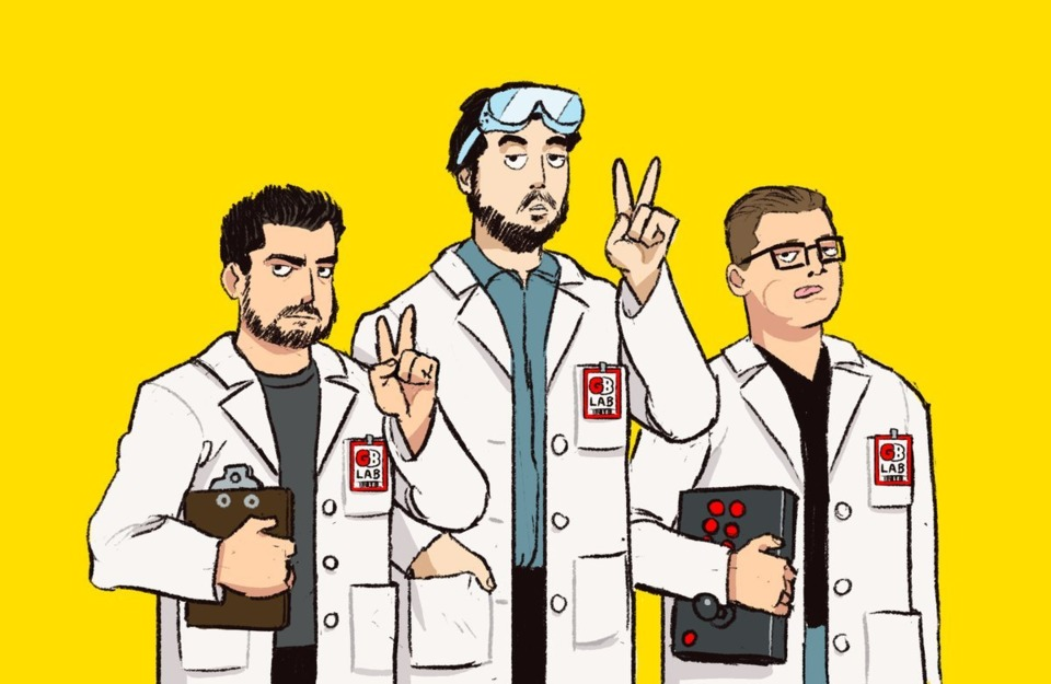 Giant Bomb's men of science are future Nobel Prize winners. MARK MY WORDS!