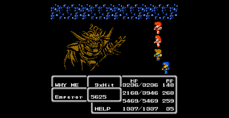 Beating the final boss in a video game within two turns is kind of hilarious in hindsight.