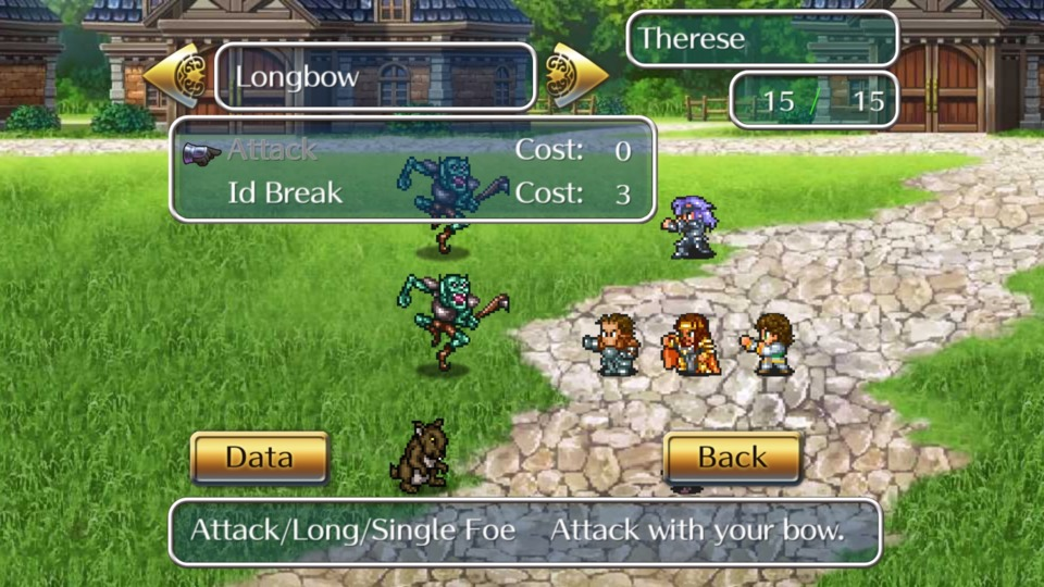 Finally, I attempted to play the Romancing SaGa remake, but I felt like my brain was collapsing into itself as I played it.