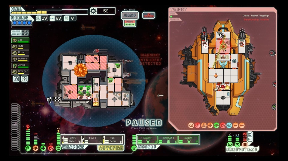 This is a literal screencap of my first successful attempt at beating the Rebel Flagship on the hardest difficulty setting.