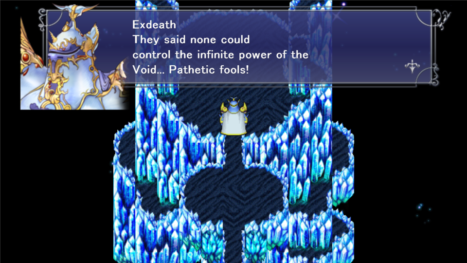 Have I mentioned how Exdeath IS ON THE FUCKING MOON!