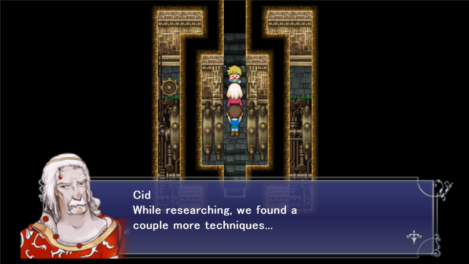 Also, you can miss out on an extra scene with Mid and Cid, which seems like an odd thing not to include in the story.