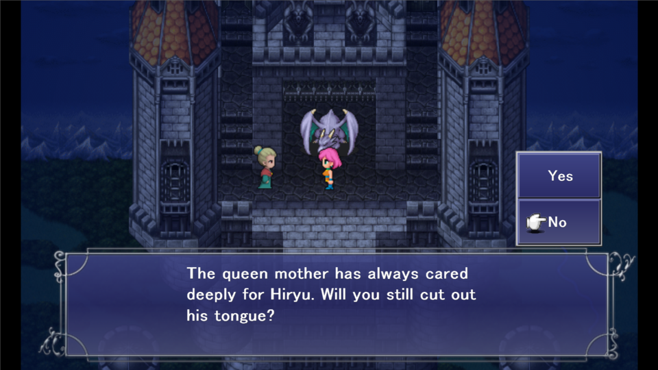 It's a goddamn shame most Final Fantasy V players have never seen this scene.