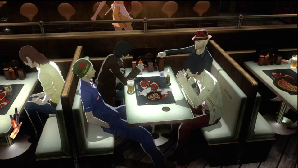Spending time in the bar gives you a break from puzzles and lets you interact with the other patrons.