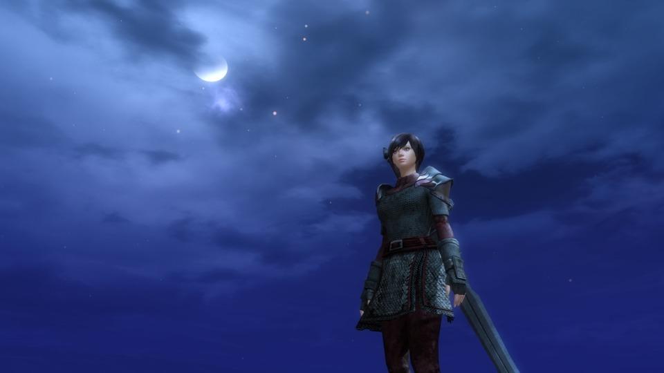 The sky looks nice