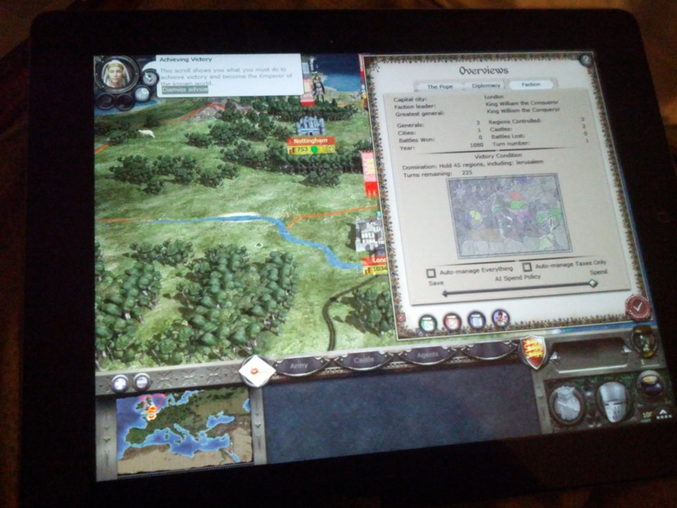 Had to try Medieval 2. Doesn't really work. It flickers as soon as you move the cursor. May have to reinstall Empire. I usually only play the giant grand map part of these games. the RTS part takes too long.