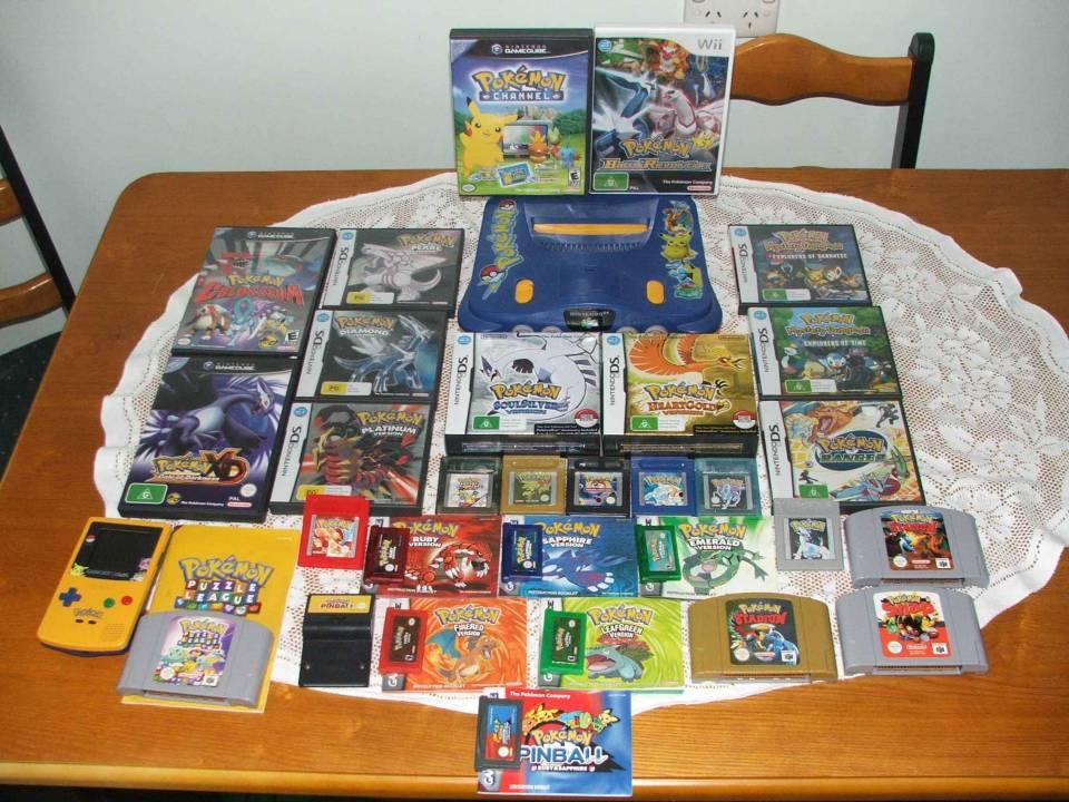 Gotta buy 'em all (missing - Pokemon Yellow: somewhere in the house)
