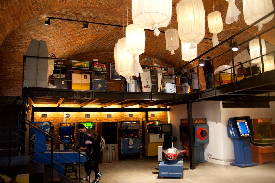 Inside the Soviet Arcade Museum