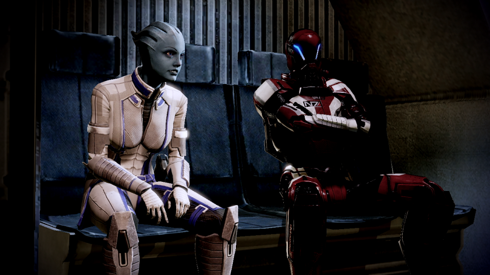 Games like Mass Effect allow Jake to have the satisfaction of social interaction without the pressure.