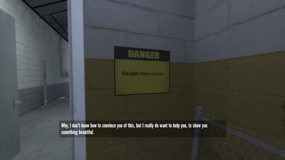 DANGER IS EVERYWHERE. KEEP YOUR EYES PEELED.