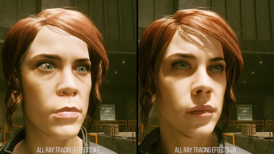 Here you see the amount of difference it makes when a character is accurately self shadowed. It's the difference between a character looking shocked vs. focused.