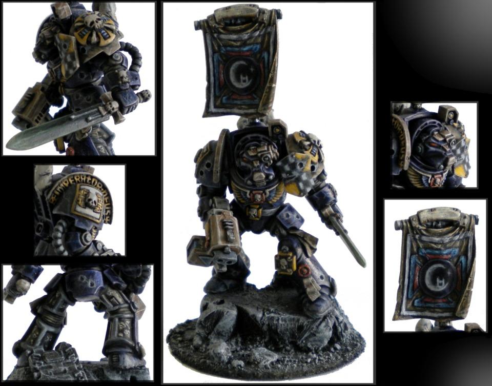 A Terminator Chaplain (just a plastic terminator but shh).