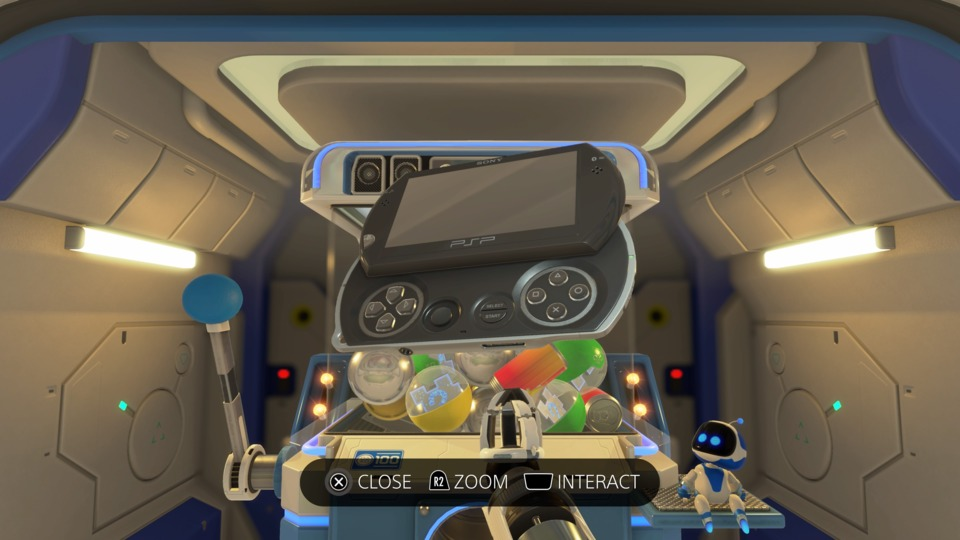 Okay. Astro's Playroom MAY inspire more copycats than the PSP Go.