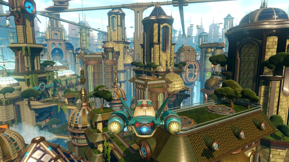 The game also has some other minigames like ship combat, a turret sequence, and hoverboarding. They were not at all bashful about just playing the hits from the franchise's past.