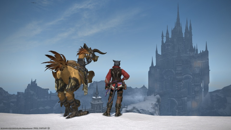 Final Fantasy XIV: A Realm Reborn - Dec 2014 - It's been a long journey and I've met many friends over the years. My trusty companion and I lay our gaze upon Ishgard, and while the city is still shut from outsiders, it won't be for much longer. The time has finally come.