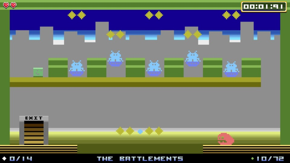 It feels like there's a lot on the screen for an Atari 2600 game, but then I never did have much exposure to that system.