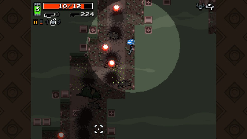 Eyes's other power, one that I'd written off, is being able to see in dark areas like the sewer. It helped a little, allowing me to get ambushed less frequently.