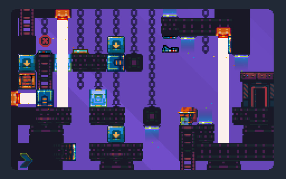 A typical stage. Looks a bit more of a headache than it actually is, in part due to the screen's compactness.
