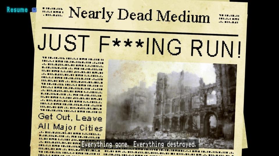 I can always appreciate a good spinning newspaper gag.