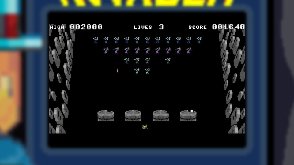 The game has a bunch of arcade parodies that are almost close to playable. The Space Invaders clone that has you fighting Thriller zombies and '80s Lycra aerobics dancers is probably the best of the bunch.