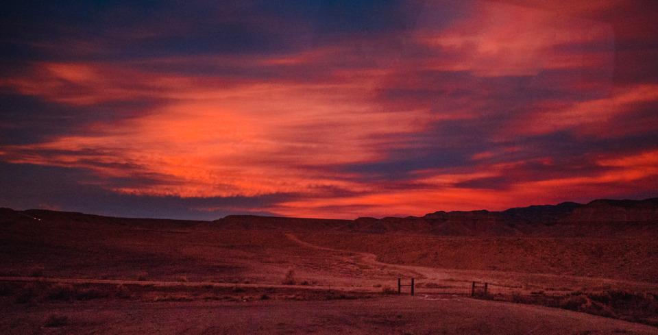 Sunset over Utah (Photo credit Izzy Gramp)