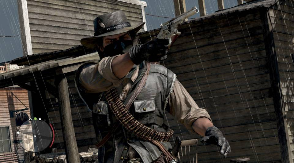You can be bad in Redemption, but deep down Marston is a good guy forced to do bad things.