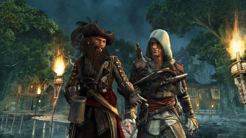Many of the Caribbean's most famous pirates make appearances in Black Flag, often as friends, betrayers, or both.