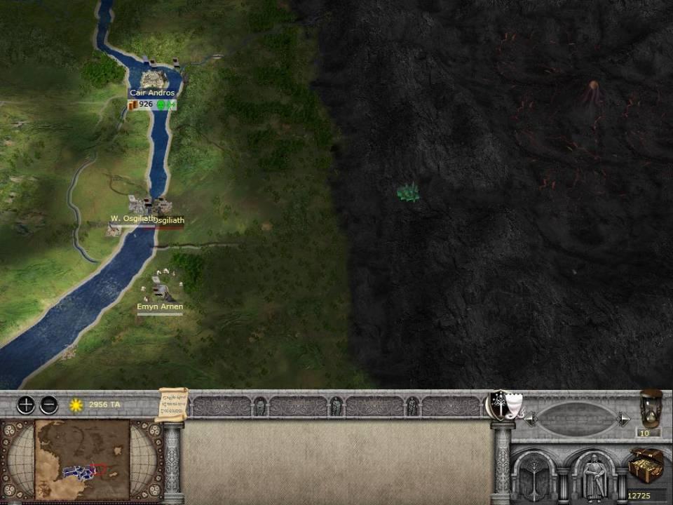 Who Spilt Mordor all over my Total War?