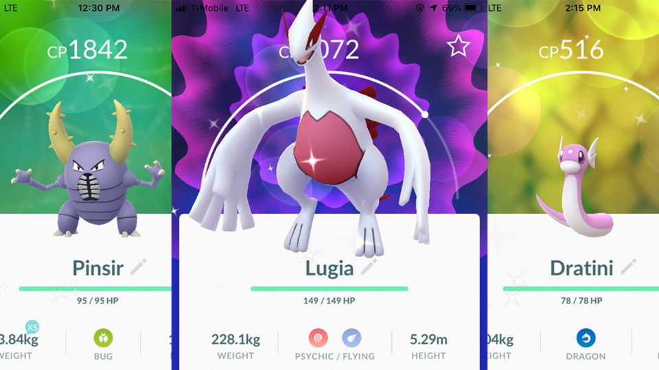 Didn't mean to flex about all the shiny pokémon, but YO!