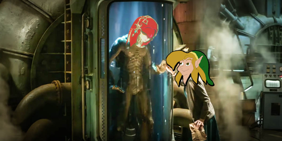 And this isn't even the first time a fish woman has wanted to have sex with Link.