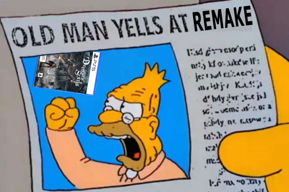 I suppose there are worse things in life than slowly turning into Abe Simpson.