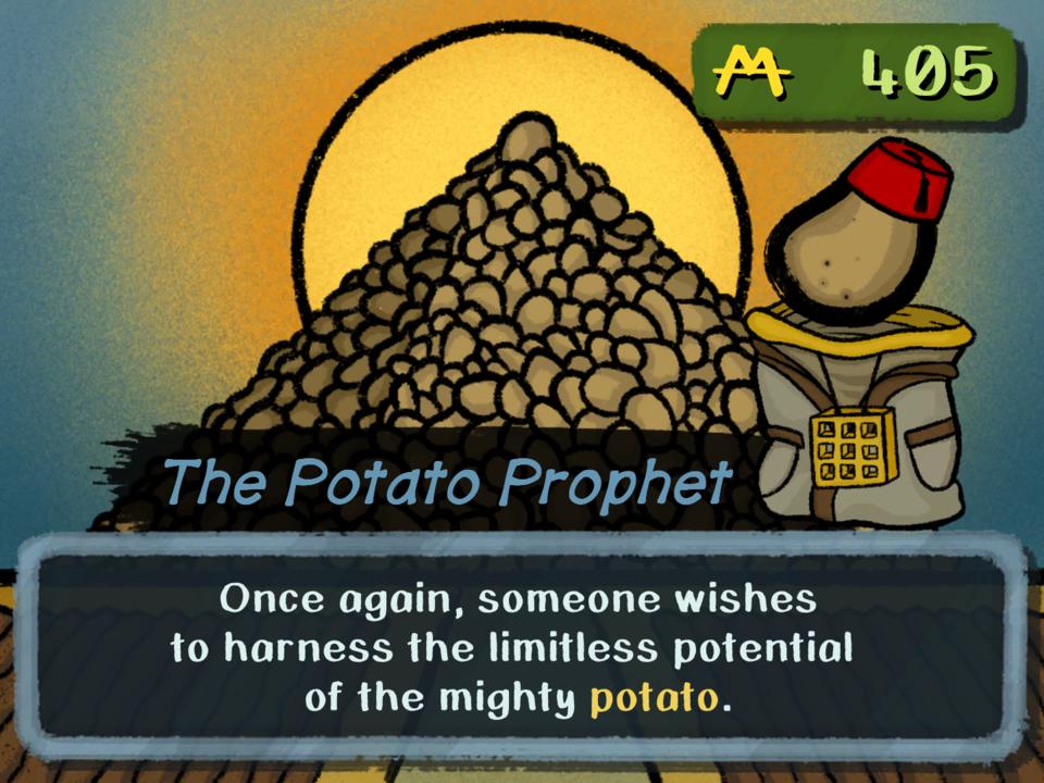 Visiting the 'Potato Pyramid'