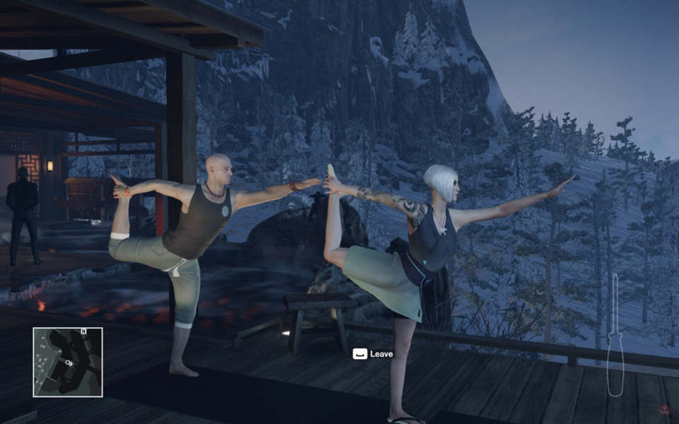 THEY MOCAPPED PEOPLE DOING YOGA. THIS IS GREAT.