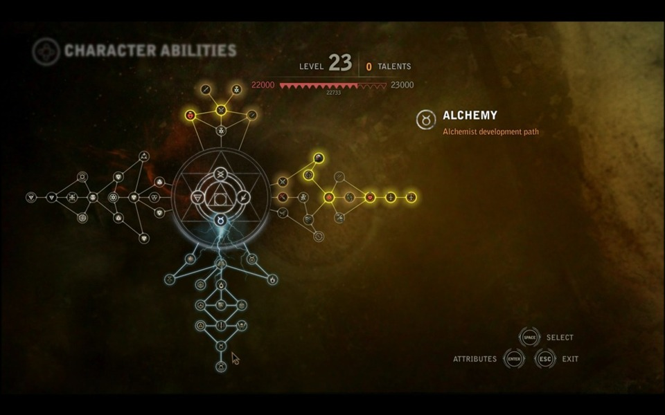 This is what a modern skill tree should look like, in my humble opinion.