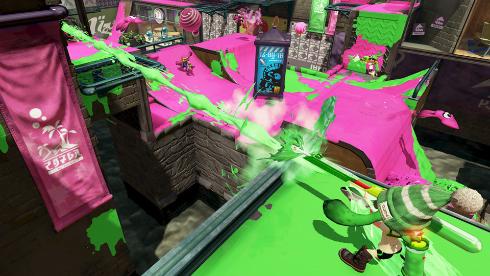 When playing Splatoon, ask yourself one question: Am I putting ink on the ground? If the answer is no, PUT INK ON THE GROUND.