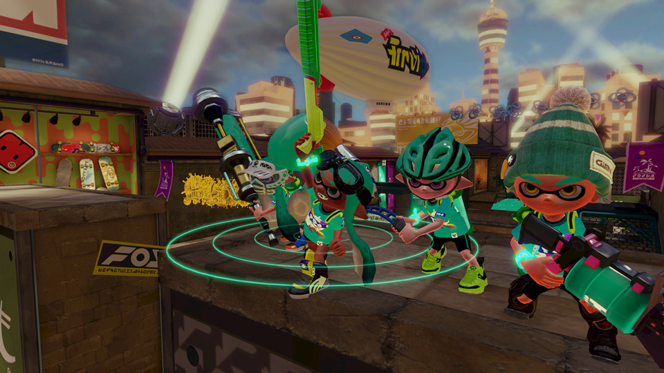 Splatoon is a game any Wii U owner ought to try. Go be a squid. Or a kid. Whatever suits your fancy.