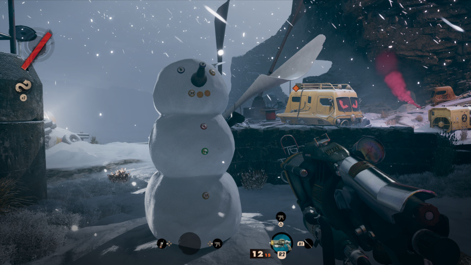I want to be the person who goes to timeloop murder island and just does wholesome things like make cute snowmen.
