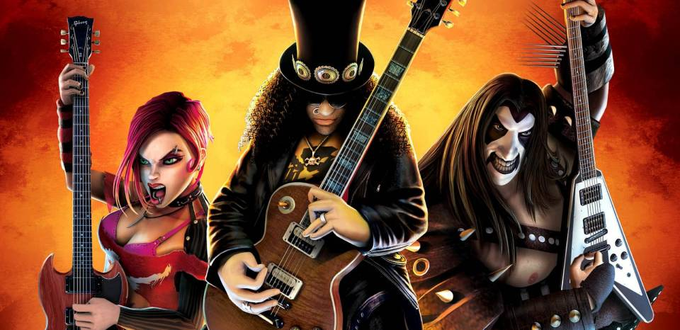 Guitar Hero III: Legends of Rock proved the series' high point.