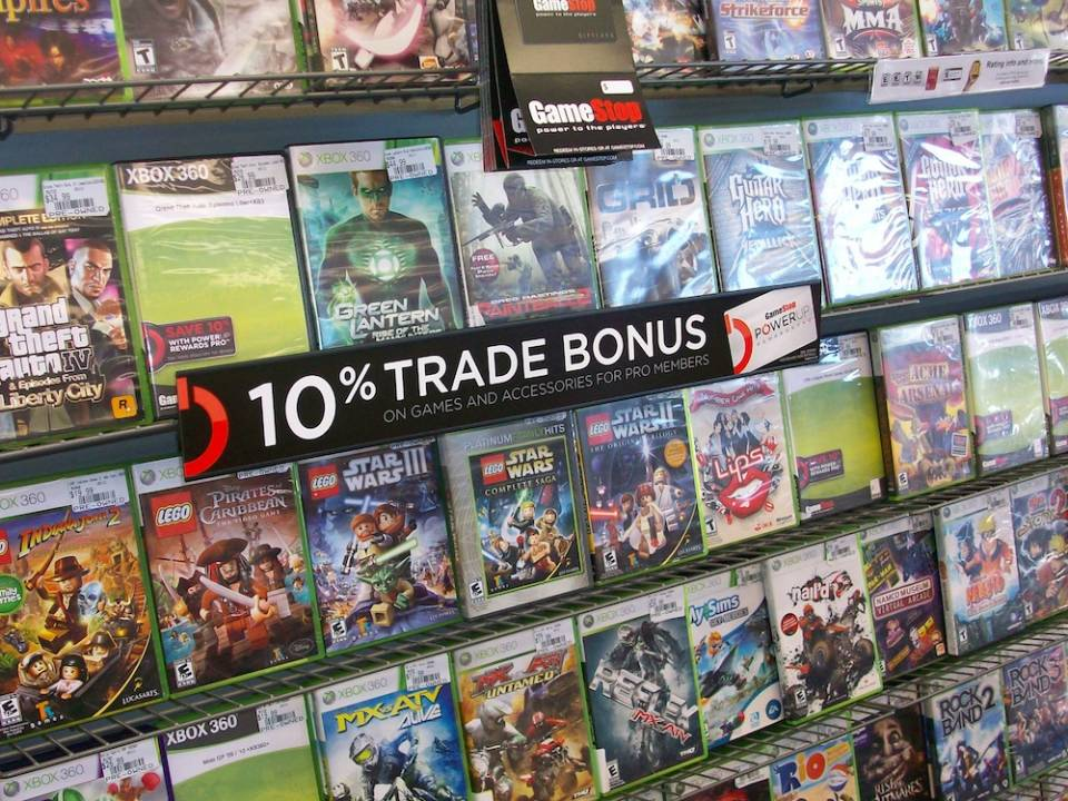 Used games have and probably will remain a common scapegoat for the industry's problems.