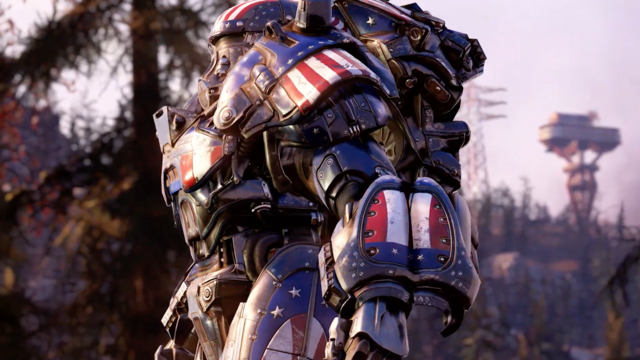 E3 2021: The Brotherhood of Steel Must Stand United in Fallout 76 Steel Reign