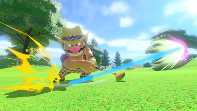 E3 2021: Marvel at Wario's Checkered Pants in Mario Golf: Super Rush