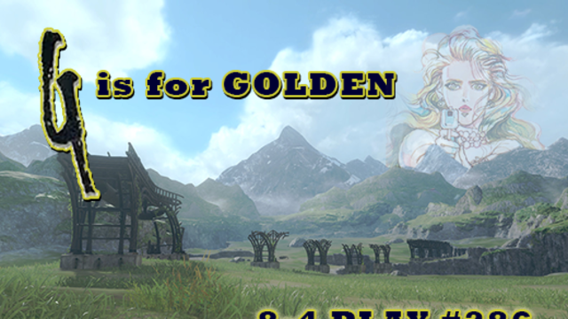 4/30/2021: G IS FOR GOLDEN