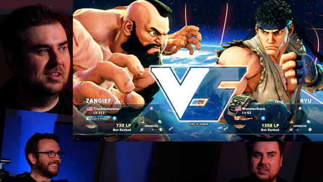 Street Fighter V Got Played