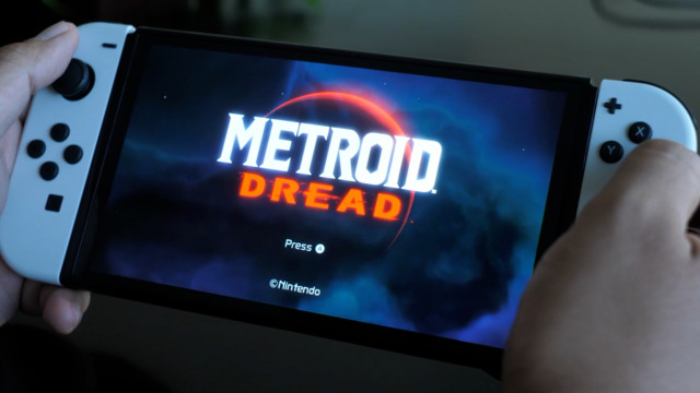 Metroid Dred & The OLED Switch
