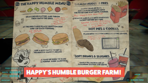 E3 2021: Everything is Perfectly Normal at Happy's Humble Burger Farm