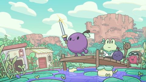 E3 2021: A Concord Grape Must Save Their Community from Rot in Garden Story
