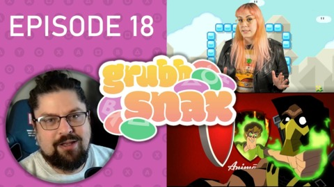 GrubbSnax Ep. 18: Giant Bomb New Hire, Warner Bros Fighting Game, and a Woopsie Poopsie