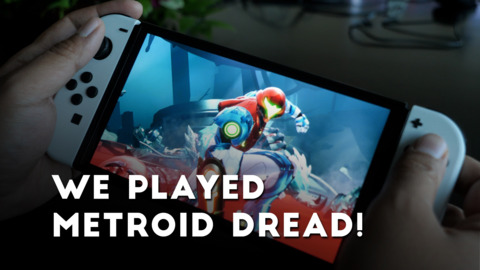 We Touched Metroid Dread & The OLED Switch!
