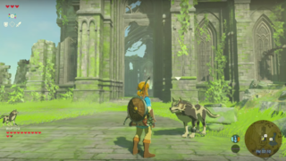 E3 2016: Wolf Link Helps Out in The Legend of Zelda: Breath of the Wild
