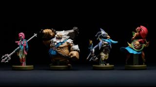 E3 2017: Four New Breath of the Wild amiibo